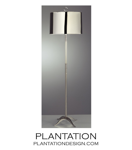 PLANTATION DESIGNS ATOMIC FLOOR LAMP
