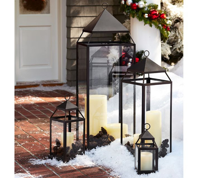 POTTERY BARN MALTA LANTERNS (SMALL - X-LARGE)