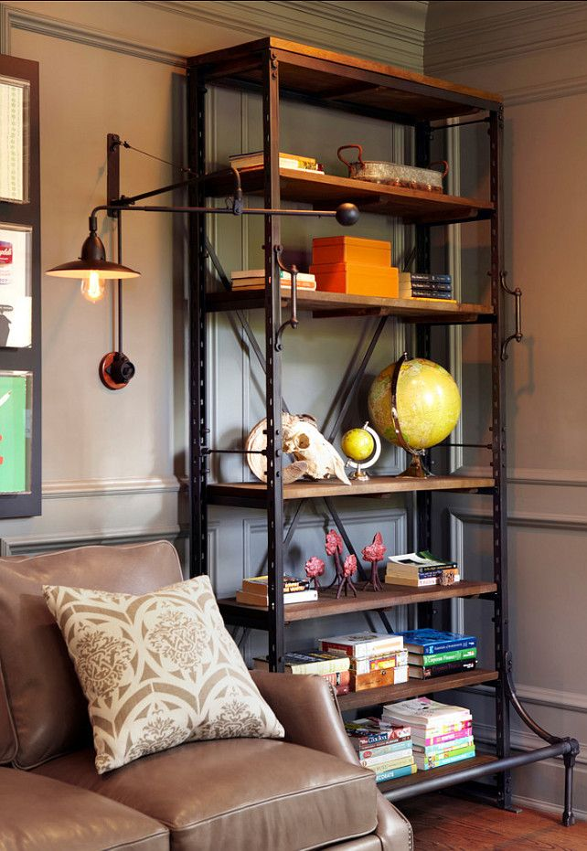 Restoration Hardware French Library Shelving Copy Cat Chic