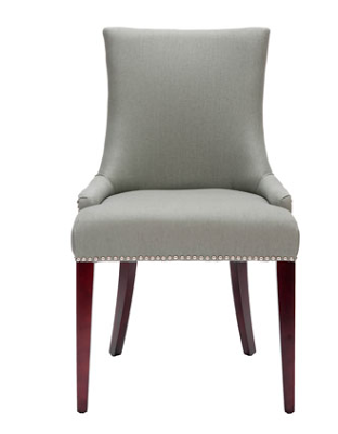 HORCHOW BECCA LINEN DINING CHAIR