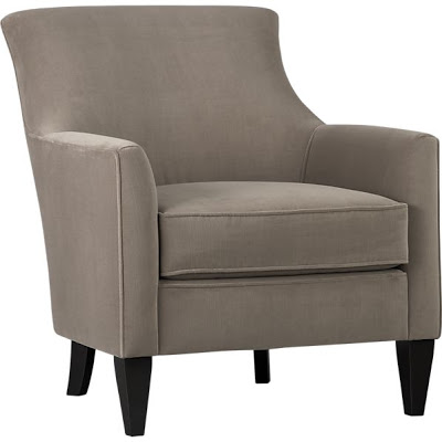 CRATE AND BARREL CLARA CHAIR
