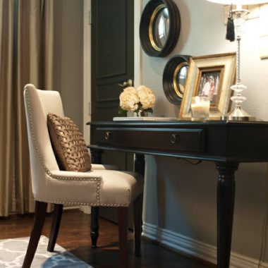 Copy Cat Chic Room Redo: Gold Office
