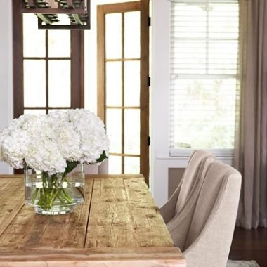 Copy Cat Chic Room Redo: Trestle Table Dining Room