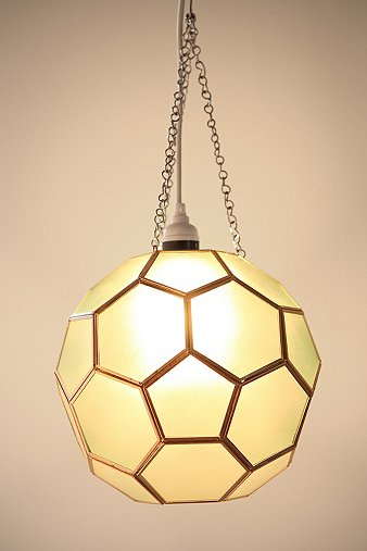 URBAN OUTFITTERS HONEYCOMB GLASS PENDANT SHADE