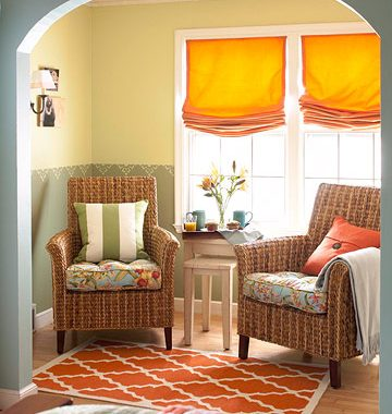 Copy Cat Chic Room Redo   Reader's Choice   Turquoise Sitting Area