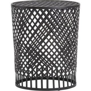 CRATE AND BARREL BRAIDEN SIDE TABLE
