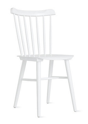 DESIGN WITHIN REACH SALT CHAIR IN WHITE