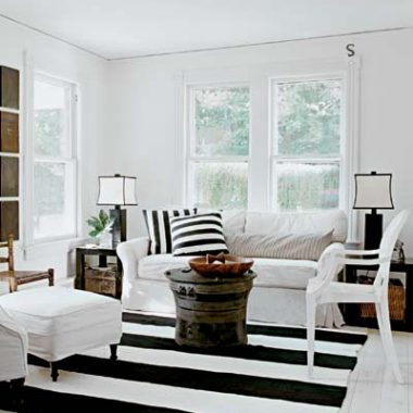 Copy Cat Chic Room Redo I Addicted to Stripes