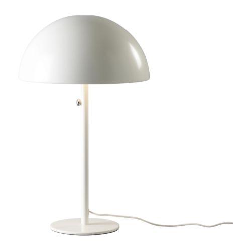 IKEA 365+ BRASA TABLE LAMP WHITE