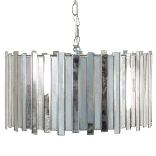 ZINC DOOR WORLDS AWAY FACETED PENDANT