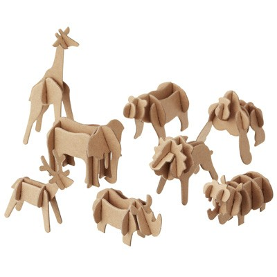 MUJI 3D PUZZLE AND ANIMAL SET