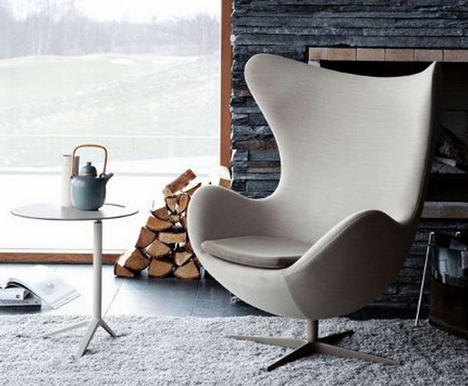 Restoration Hardware Upholstered Copenhagen Chair