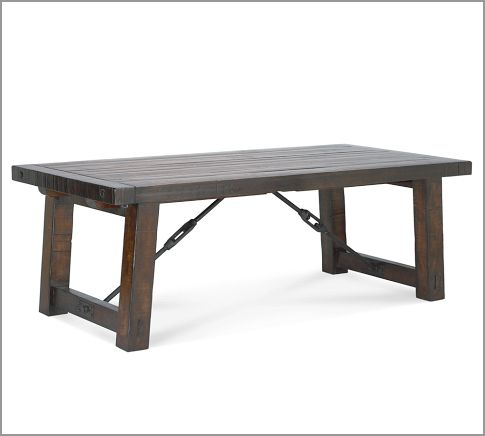 Pottery Barn Benchwright Dining Table Copycatchic