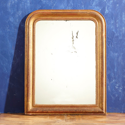 Wisteria Gilt Carved Wood Mirror Copy Cat Chic