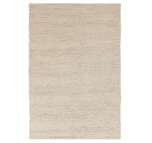 DWELL STUDIO BRAIDED WOOL STONE RUG