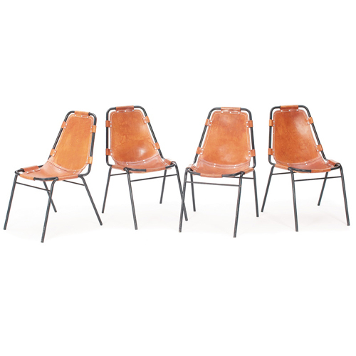 EBAY CHARLOTTE PERRIAND 1965 CHAIRS LES ARC