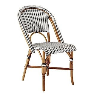 serena and lily riviera side chair