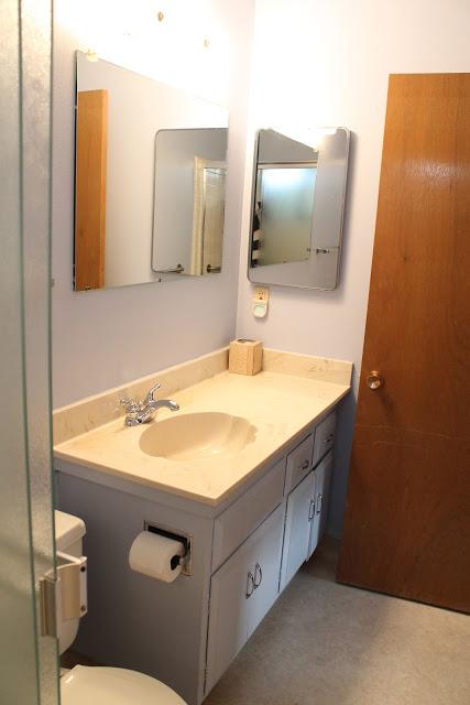 White Bathroom Vanity Brass Hardware