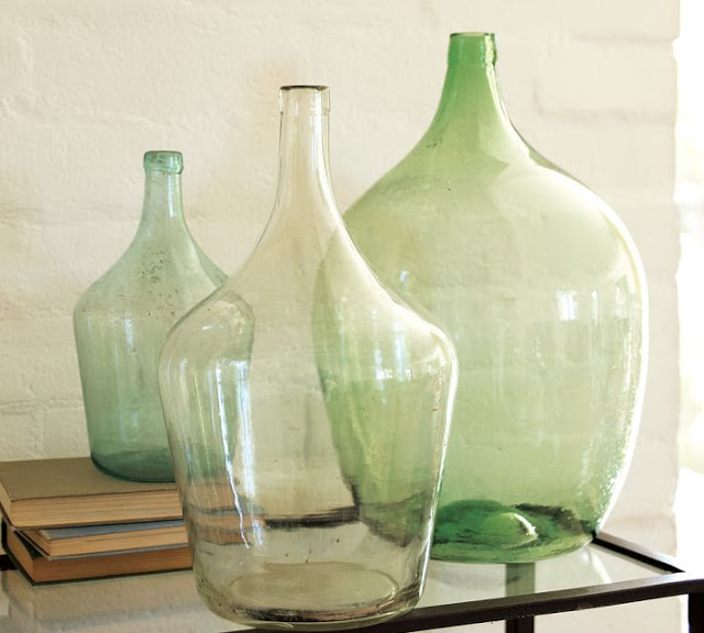 POTTERY BARN FOUND OVERSIZED WINE BOTTLE