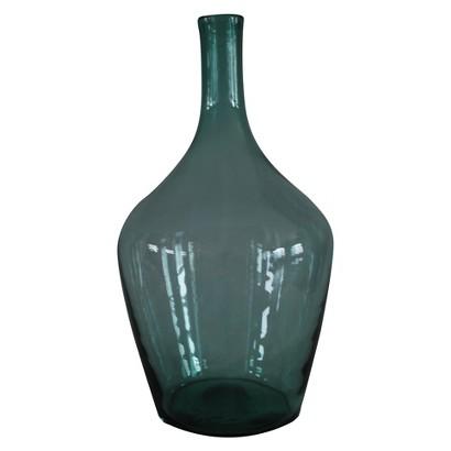 TARGET GLASS FLOOR VASE