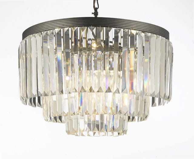 Amazon Crystal Fringe Chandelier