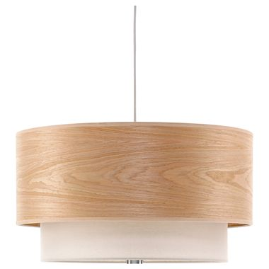 JCPENNEYS STUDIO SHADE IN SHADE PENDANT CEILING LIGHT