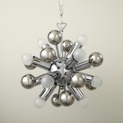 LAND OF NOD UP AND ATOM CHANDELIER