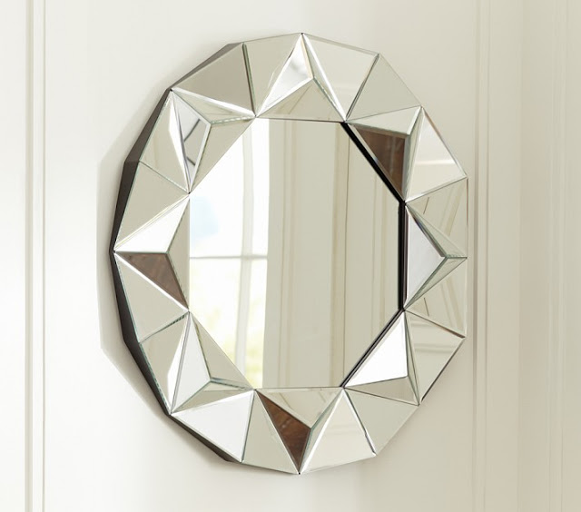 POTTERY BARN KIDS GEM MIRROR