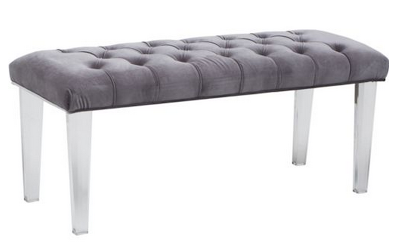 HIGH FASHION HOME GLAMOUR BENCH