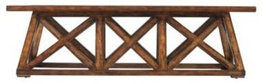 Stanley Furniture - Modern Craftsman Manhattan Low Bridge Table