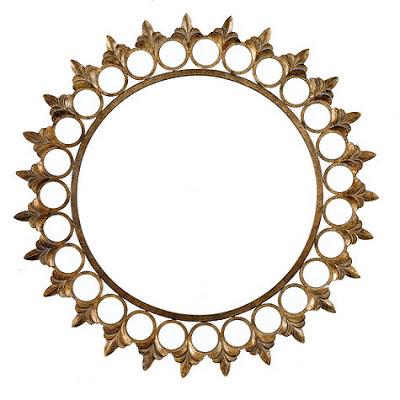 Ballard Designs Crown Sunburst Mirror