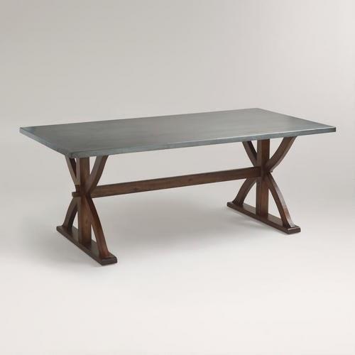 Cost Plus World Market Braxton Metal Table 1