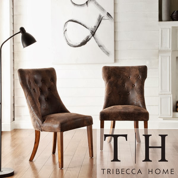 overstock tribecca home atelier traditional french burnished brown oak dining chair - Best Dining Chairs
