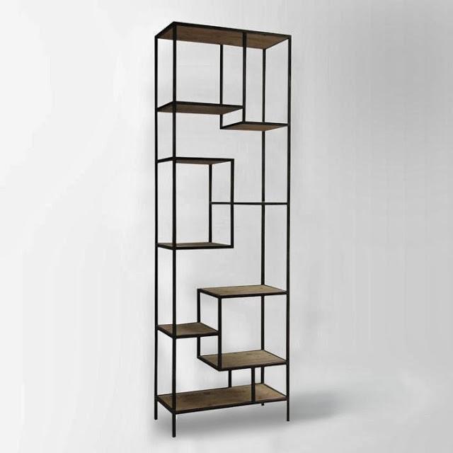 West Elm Reclaimed Pine Iron Bookcase