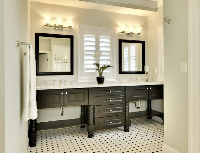 Nice In my experience bathrooms and kitchens are two of the toughest rooms to design on a budget We sink a lot of money into rooms like that uand maybe it us