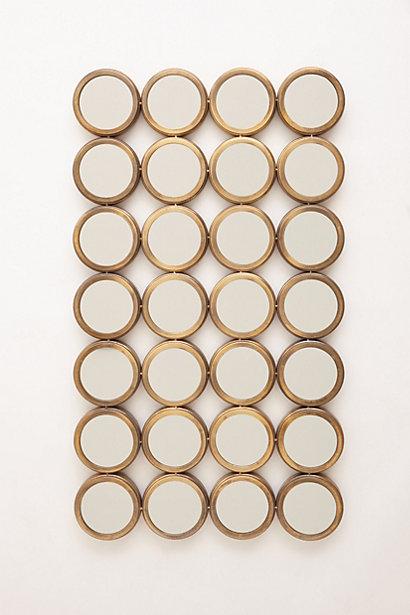 Anthropologie Floor-Length Porthole Mirror