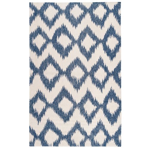 DwellStudio Diamond Ikat Indigo Rug
