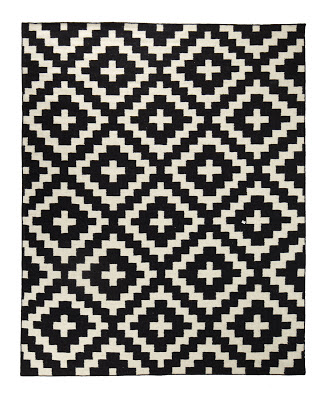 horchow aztec chama flatweave rug copy cat chic