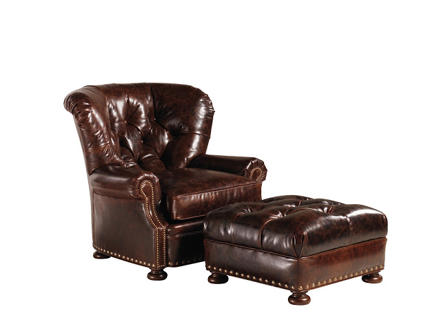 Wayfair Lexington Elle Leather Chair And Ottoman