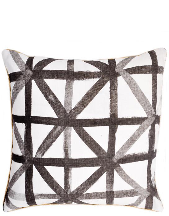 Leif Shop Lattice Check Cushion