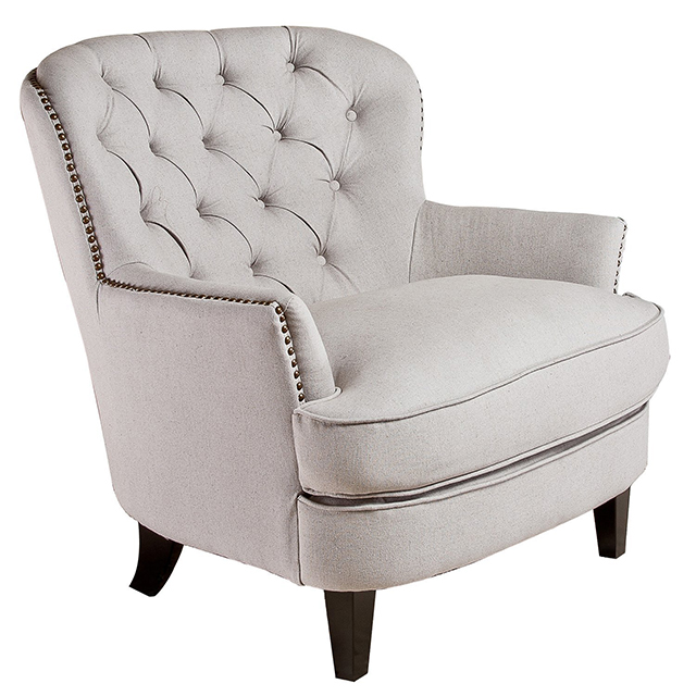 Pottery Barn Cardiff Tufted Upholstered Armchair Part 2