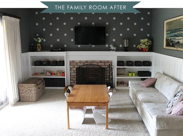 Ranch House Redo | Family Room Update - copycatchic on family room cottage, family room mansion, family room modern house, family room bi-level house, dining room ranch house, living room ranch house,