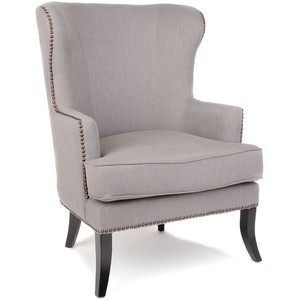 Kirkland's Parker Gray Wing Chair