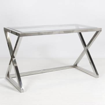 Mecox Maven X Nickel Desk
