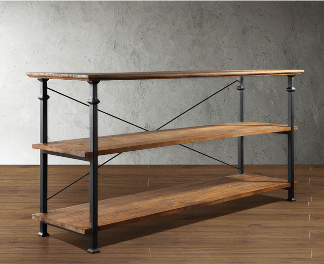 OVERSTOCK TRIBECCA HOME INDUSTRIAL TV STAND