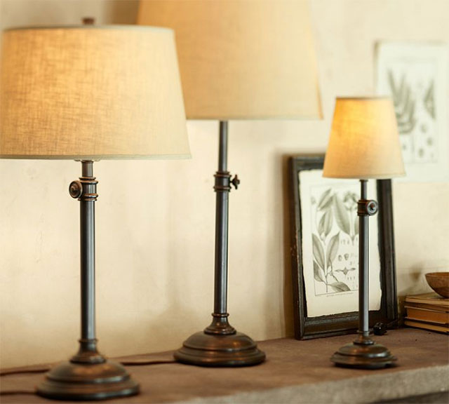 Pottery Barn Snitch Lamp: Pottery Barn Chelsea Table Lamp