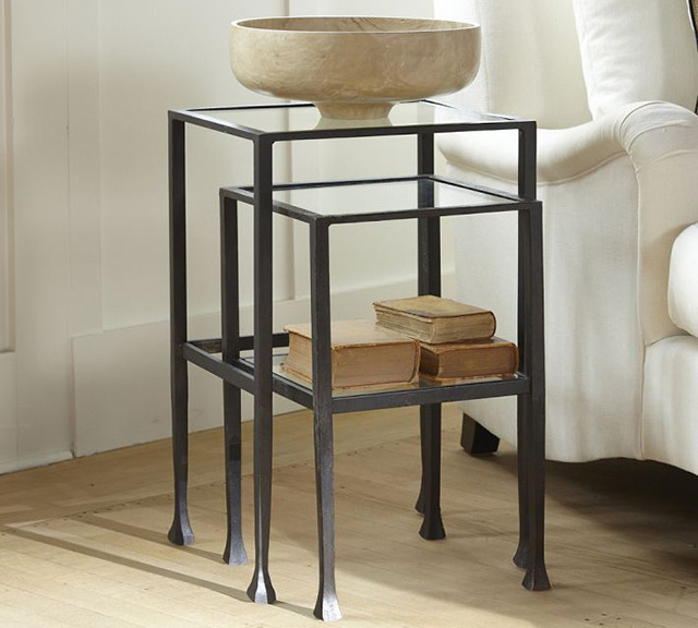 Pottery Barn Tanner Nesting Side Tables