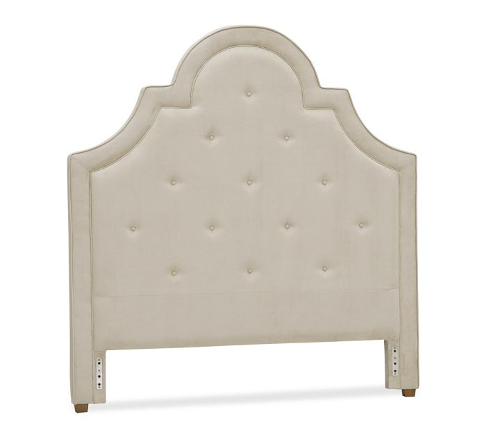 Perfect Pottery Barn York Tufted Headboard