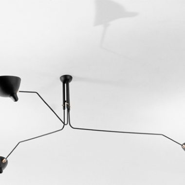 Serge Mouille Ceiling Lamp MCL-R3