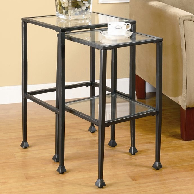 Wayfair Wildon Home Thorndike 2 Piece Nesting Tables